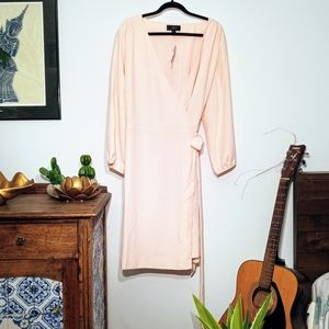 Plus size J Crew wrap dress